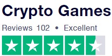 Trustpilot.com gives 4.5 stars to Crypto-Games.net ( based on 98 review)