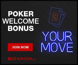 Bovada Bitcoin Poker Bonus